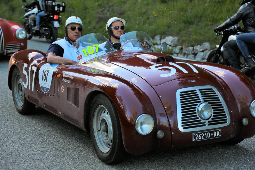 Fiat Ermini Mille Miglia 2016 telaio n° 214184 motore 106880