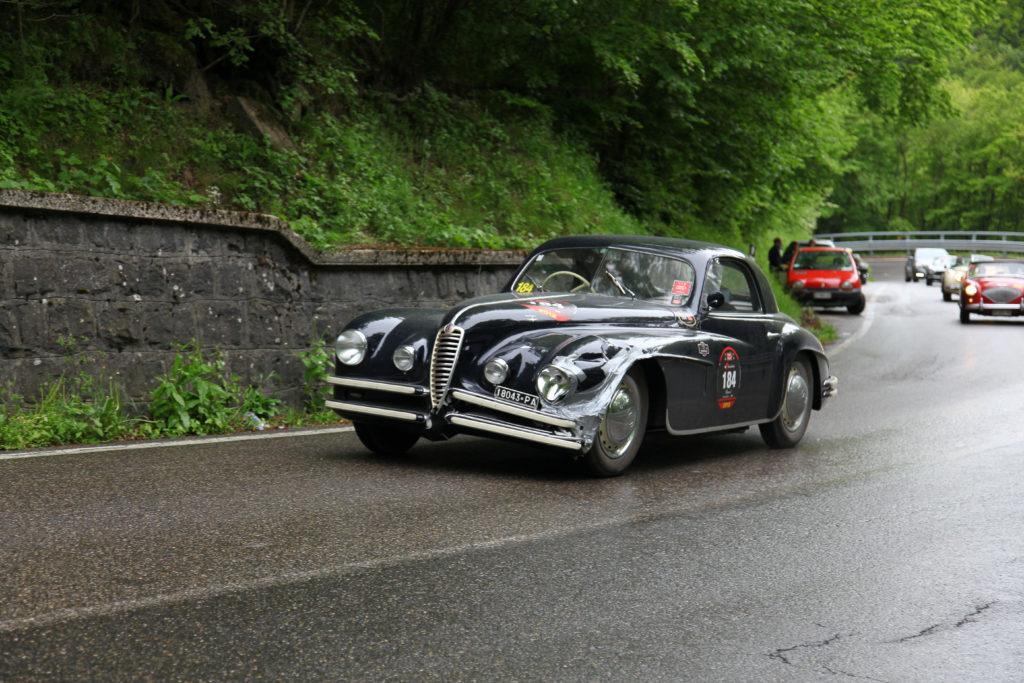Alfa Romeo 2500 SS Villa D'Este Mille Miglia 2012 La Futa