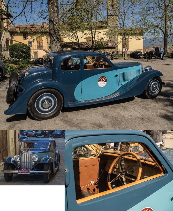 Bugatti T57 Chassis # 57155