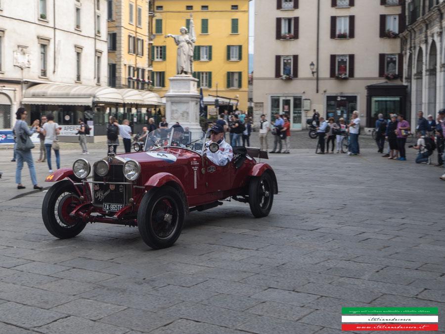 Alfa Romeo 1500 MMS Chassis 0211407 Mille Miglia 2017 Piazza Della Loggia BRESCIA