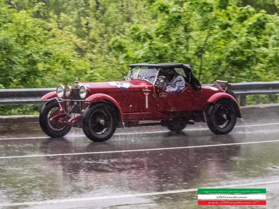 Alfa Romeo 1500 MMS Chassis 0211407 Mille Miglia 2017 Abetone