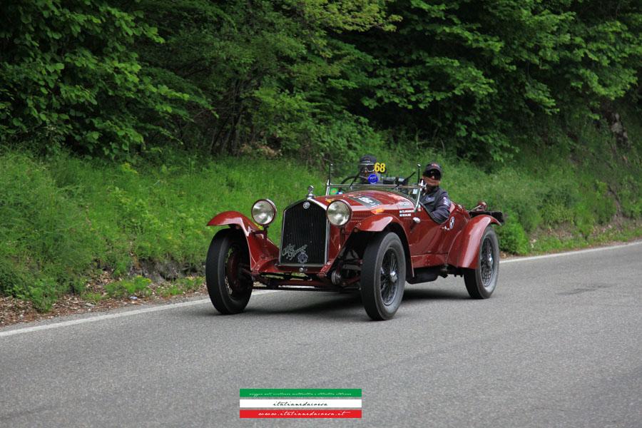 Alfa Romeo 6C 1500 Gran Sport # Chassis 10814406 Mille Miglia 2012 La Futa