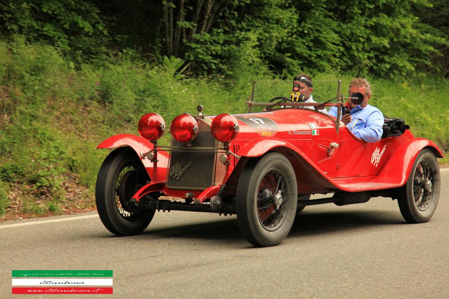 Alfa Romeo 1500 Gran Sport Chassis n°8513086 ZAGATO Mille Miglia 2012