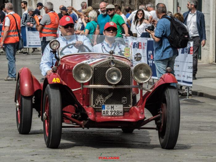 Italianedacorsa Alfa Romeo 6C 1750 Grans SPORT # chassis telaio 211371