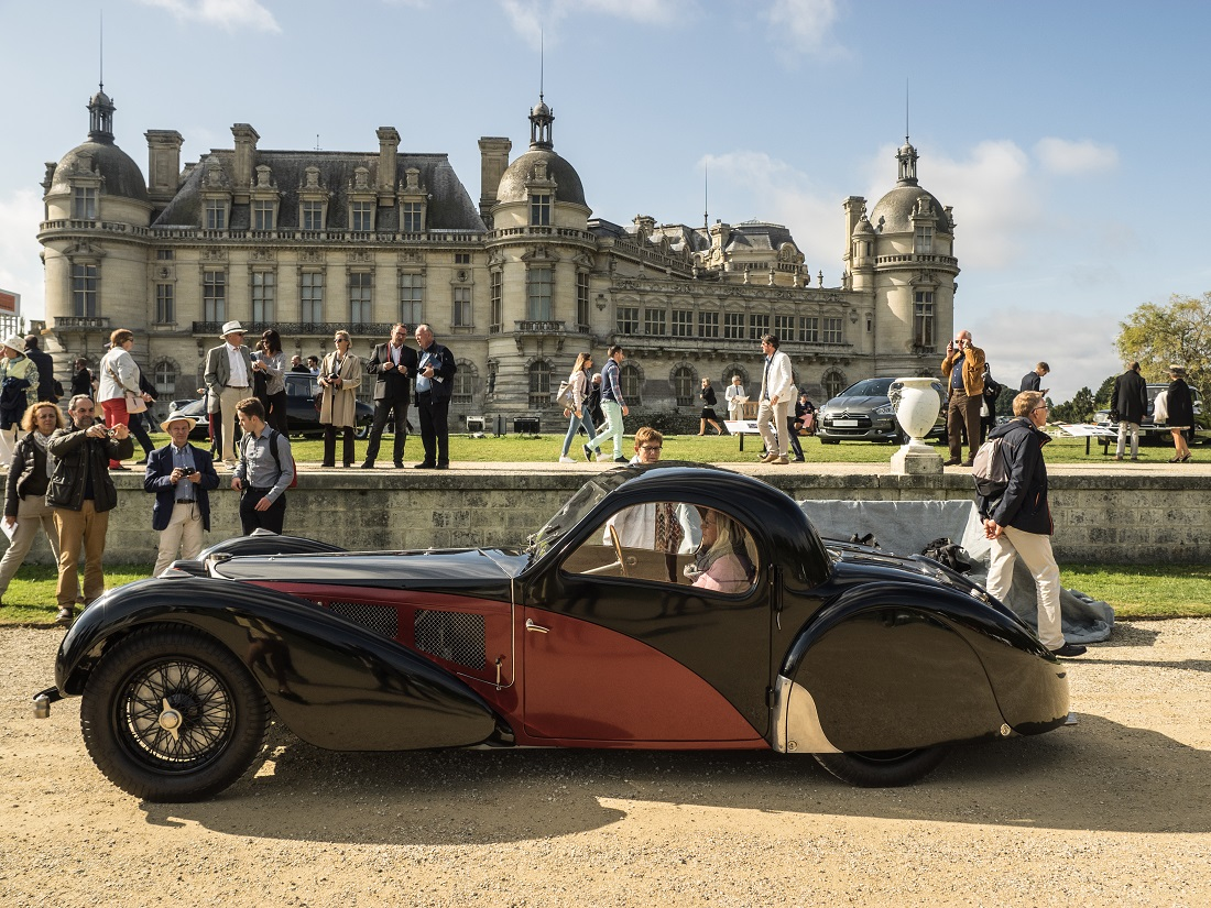 Bugatti a Chantilly Arts & Elegance 2017