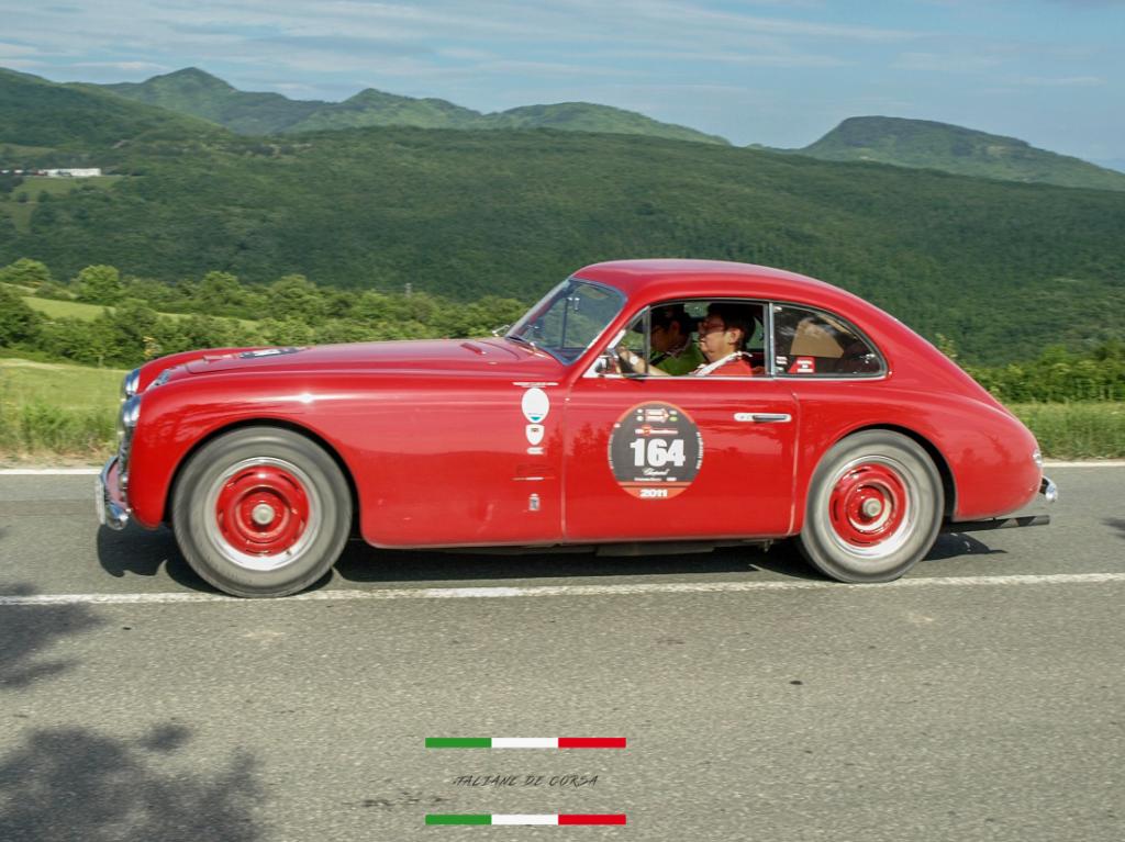 MAserati A6 1500 # 0101 Mille Miglia 2011
