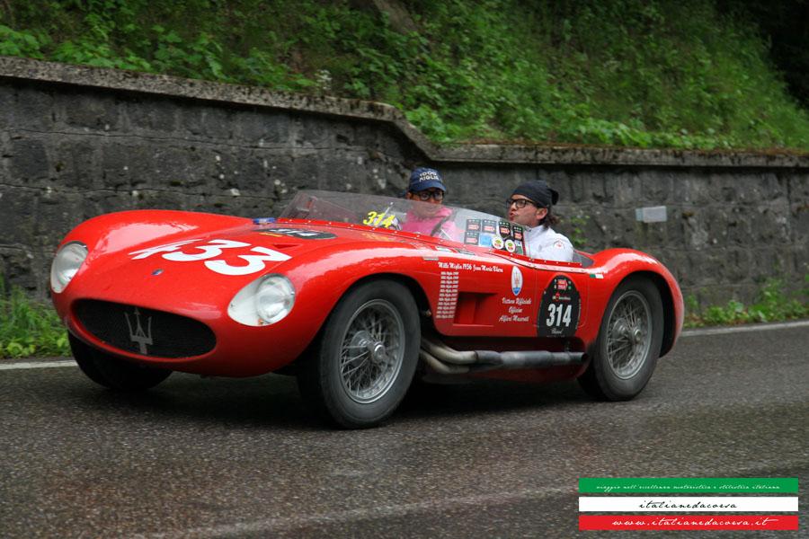MASERATI 150S Chassis #1651 Mille Miglia 2012 La Futa