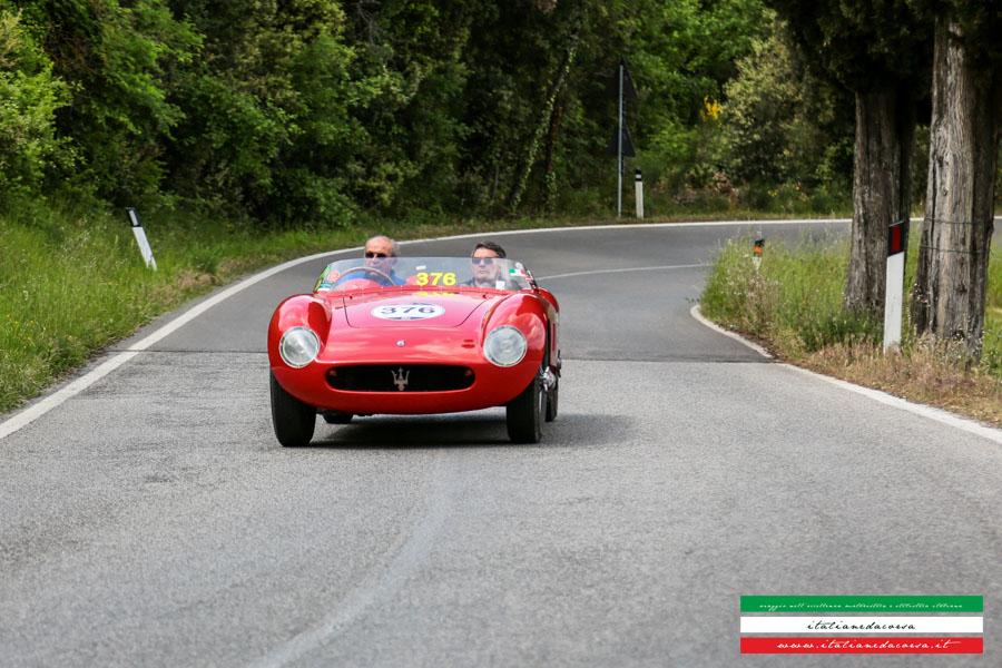 Maserati 150s Chassis #1659 Mille Miglia 2014 Volterra