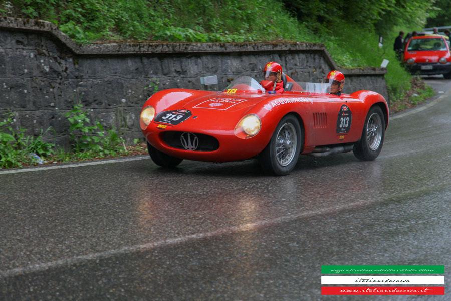 Maserati 150s #sconosciuto Mille Miglia 2009 La Futa