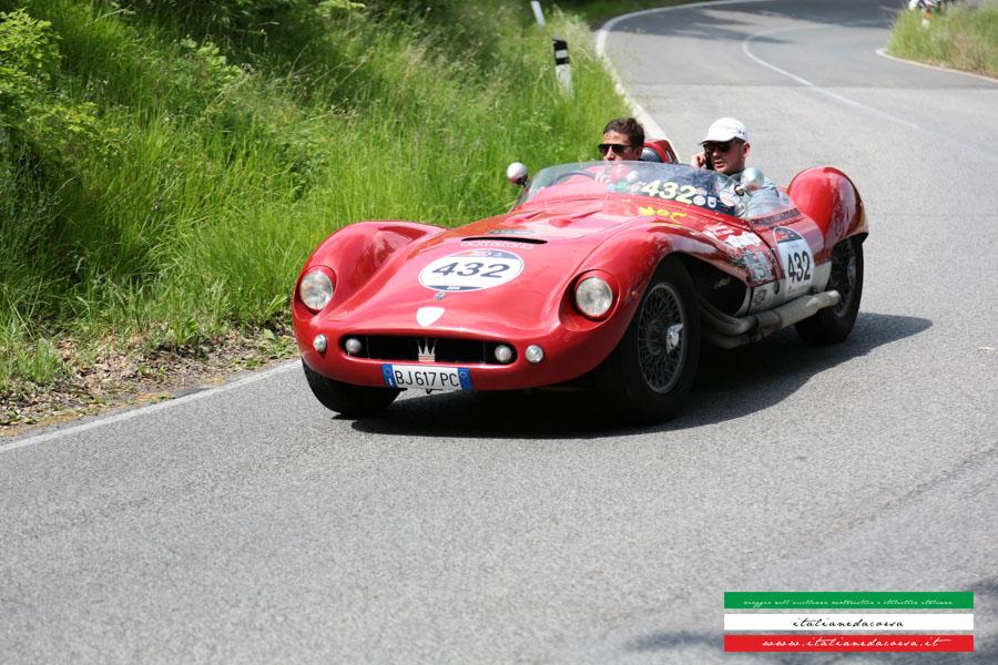 Maserati 150s #sconosciuto Mille Miglia 2014 Volterra