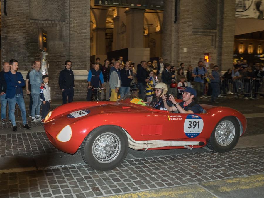 Maserati 150 S Mille Miglia 2018 Padova Centro Storico