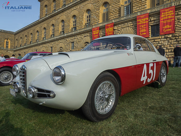Italianedacorsa Alfa Romeo 1900 SSZ Heritage Ricci Firenze 2018