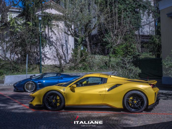 talianedacorsa-Concorso-Salvarola-Terme-2019-Ferrari-488-PISTA-Pagani