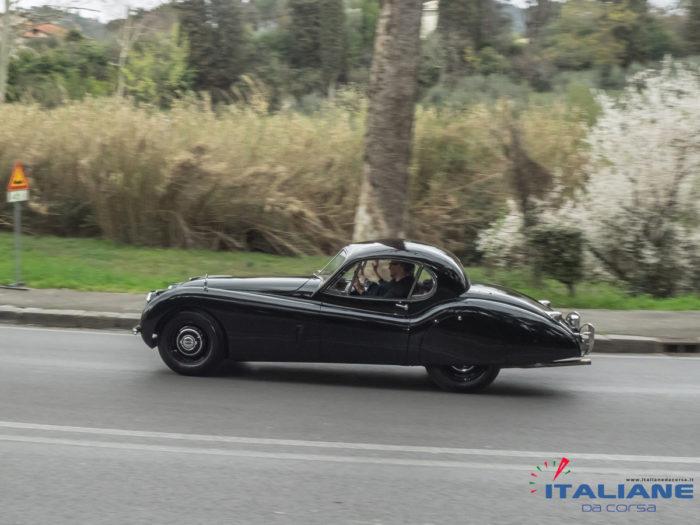 Italianedacorsa-Firenze-Fiesole-2019-Jaguar-XK-120-OTS