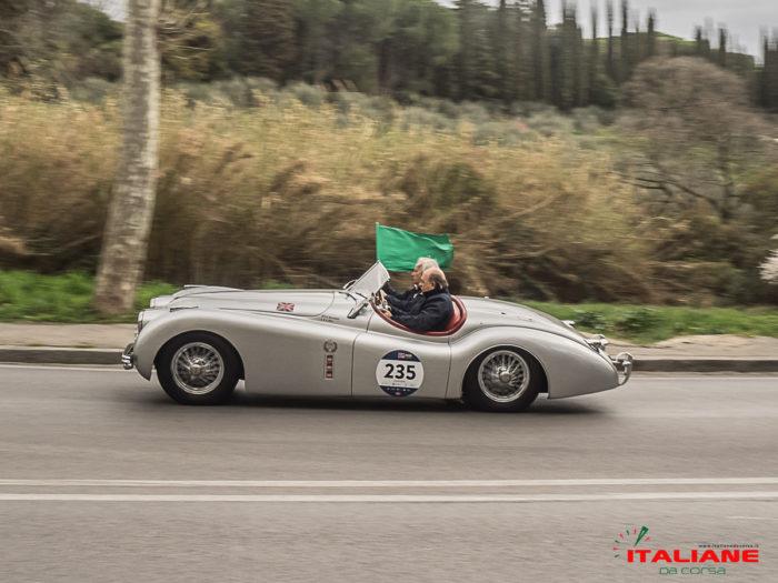 Italianedacorsa-Firenze-Fiesole-2019Jaguar XK120 OTS
