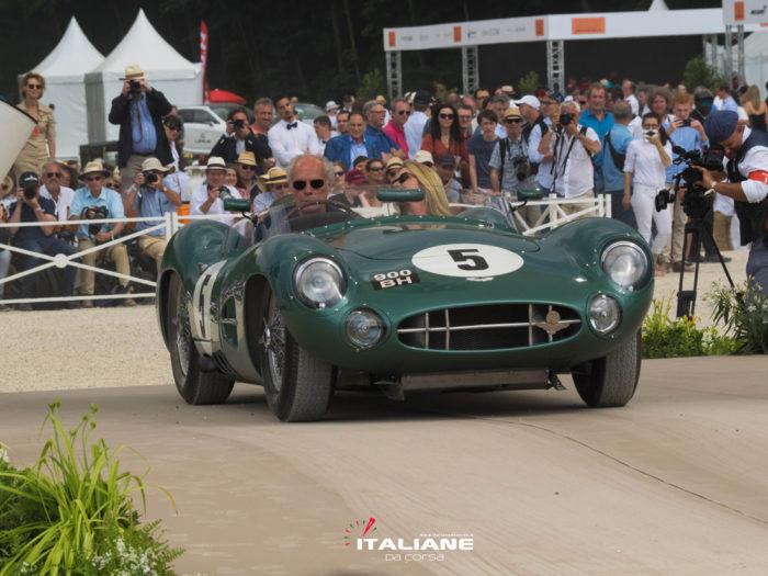 Italianedacorsa-Chantilly Arts & Elegance 2019-DBR1-Aston-Martin-da-corsa-dopo-guerra-Aperte