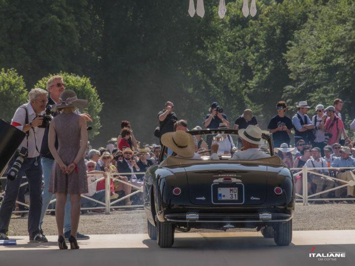 Italianedacorsa Chantilly Arts & Elegance 2019 Ferrari-166-Inter-Stabilimenti-Farina-categoria-le-vetture-del-Salone-di-Parigi-fino-al-1961