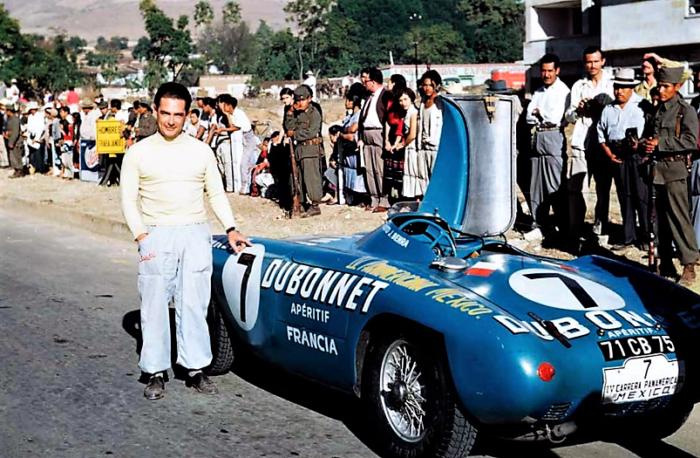 Gordini T24 Jean Behra Carrera Panamericana Mexico 1953