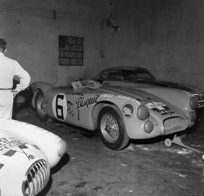 Talbot G26 Carrera Panamericana Mexico 1953 Luis Rosier