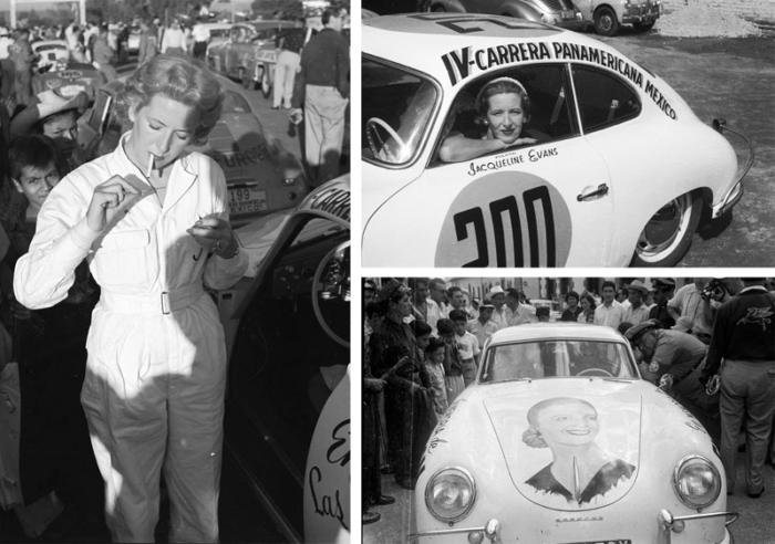 Porsche 356 Jacqueline Evans Carrera Panamericana 1953