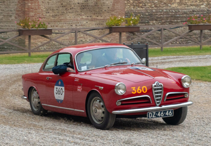 Mille Miglia 2020-Alfa Romeo Giulietta SPRINT #italianedacorsa