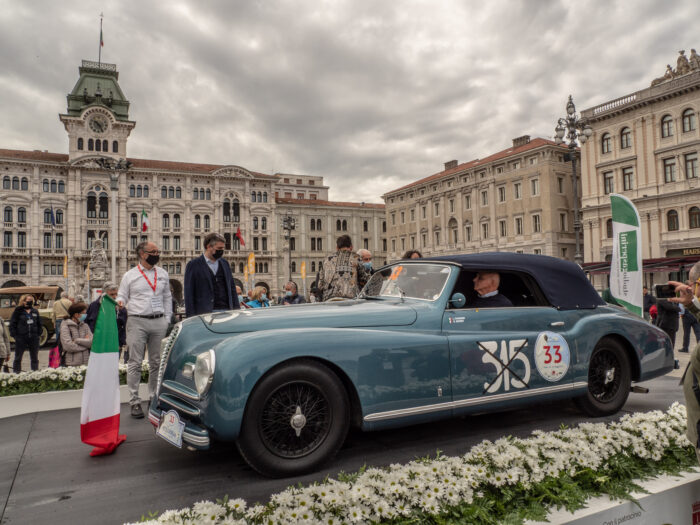 italianedacorsa-Mitteleuropenan Race 2021 Alfa-Romeo-2500-6C-Pininfarina-SS-chassis-915303