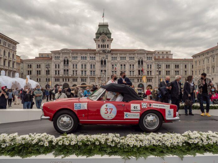italianedacorsa-Mitteleuropenan Race 2021-Alfa Romeo Giulietta SPRINT SPider Progetto MITE